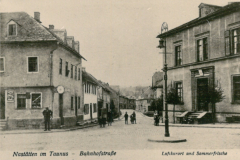 Bahnhofstrasse-Postkarte-Luftkurort