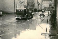 Rheinstrasse Hochwasser