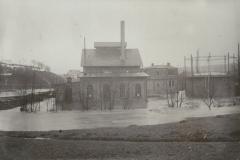 Nastätten unter Wasser 4.2.1909