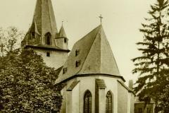 evangeliche Kirche von Römerstrasse 1954