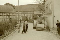 Straßenbau Lohbachstrasse Mai 1951