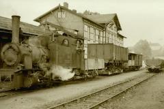Kleinbahn Eisenbahnwaggon 1952