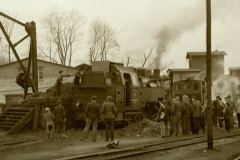 neue Kleinbahnlok 5. Januar 1952