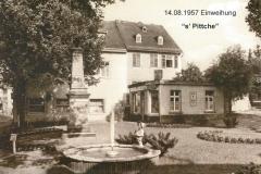 Adolfsplatz 1957 - Einweihung Pitche