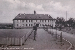 Volksschule (heute Bürgerhaus) 1929