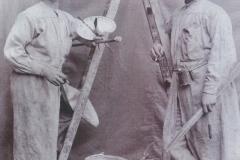 Die Anstreicher - Fritz Hehner und Christian Stüber 1900
