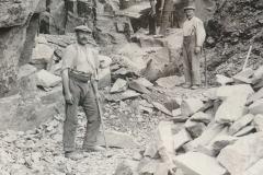 Steinbruch heute Beck 1910