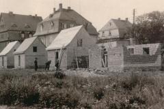 Marktplatz - Bau von Behelfsheime 1943