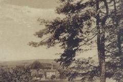 Blick zur Funkenmühle unterhalb des damaligen Taunushotel (Tannenhof)