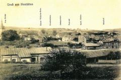 Kaiser-Wilhelm-Heim, Krankenhaus, Amtsgericht,Postamtkatholische Kirche, Bahnhof